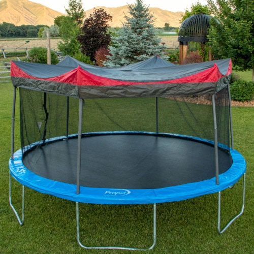 Propel Trampolines 12 Foot Shade Cover for Propel P12-6GE & K12-6BE, Multicolor Perspective: bottom