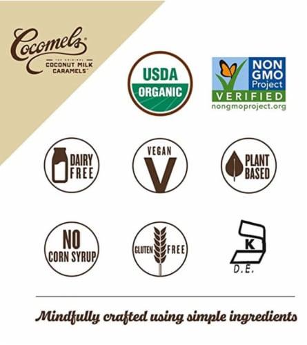 Cocomels Vanilla Coconut Milk Caramels Perspective: bottom