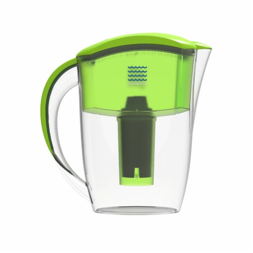 Drinkpod  Alkaline Water Pitcher 2.5L Capacity Includes 3 Filters Perspective: bottom