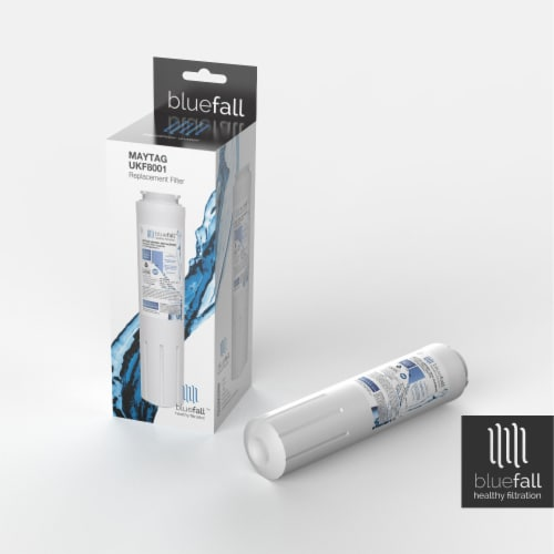 Maytag UKF8001 3PK Refrigerator Water Filter Compatible by BlueFall Perspective: bottom