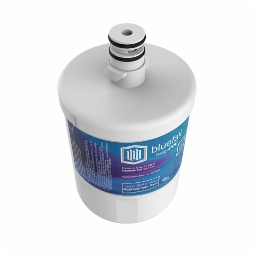 LG LT500P Refrigerator Water Filter Compatible by BlueFall Perspective: bottom
