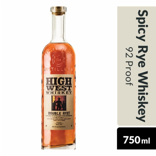 High West Double Rye Whiskey Perspective: bottom