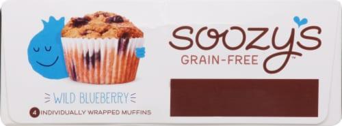 Soozy's Wild Blueberry Muffins Perspective: bottom