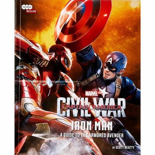 IncrediBuilds Marvel Captain Marvel Civil War 3D Wood Model and Book Perspective: bottom