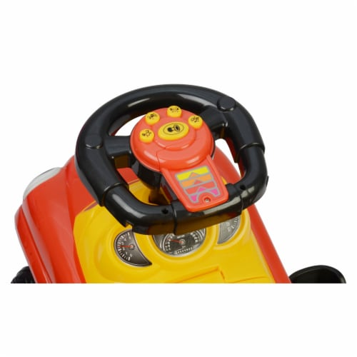 Best Ride On Cars Baby 3 in 1 Little Tikes Push Car Stroller Ride On Toy, Red Perspective: bottom