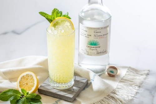 Casamigos Tequila Blanco Perspective: bottom