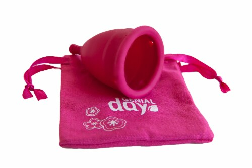 Genial Day Feminine Menstrual Cup Medium Perspective: bottom
