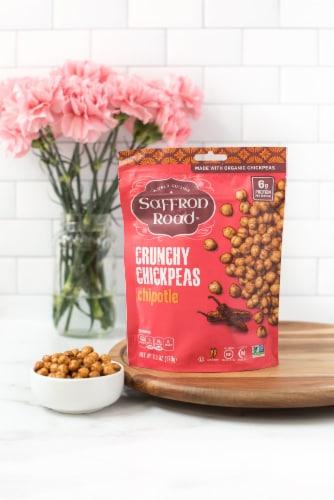 Saffron Road® Gluten-Free Chipotle Crunchy Chickpeas Perspective: bottom