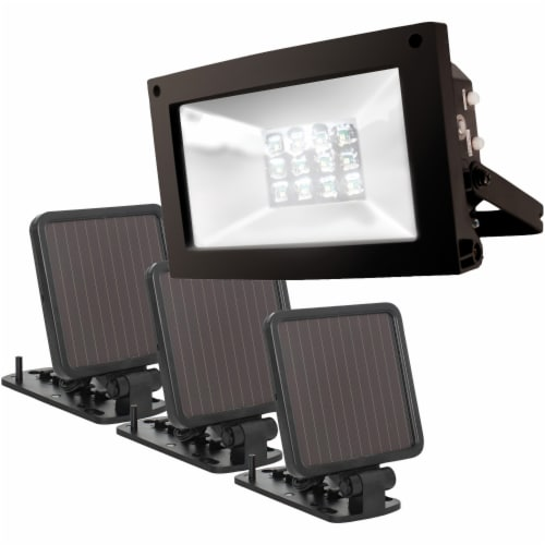 MAXSA Innovations 40331 Solar-Powered Ultrabright Flood Light Perspective: bottom