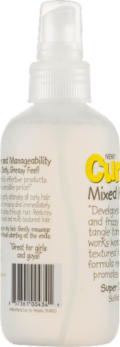 Curly Kids Mixed Hair Care Super Detangling Spray Perspective: bottom