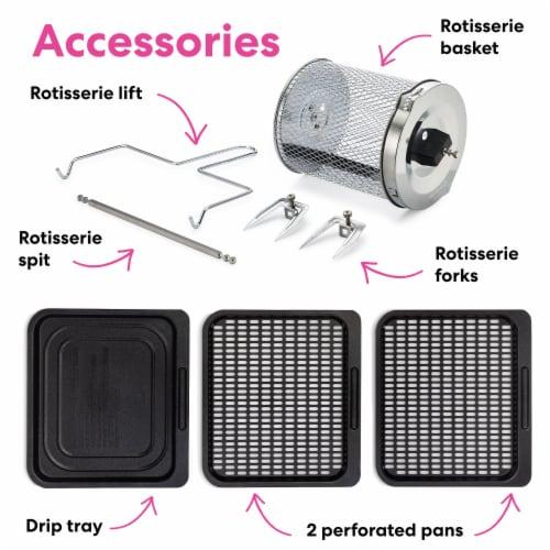 Instant Brands Vortex Plus Air Fryer Oven - Black/Silver Perspective: bottom