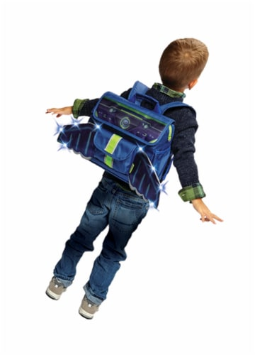 Bixbee LED Space Racer Backpack Perspective: bottom