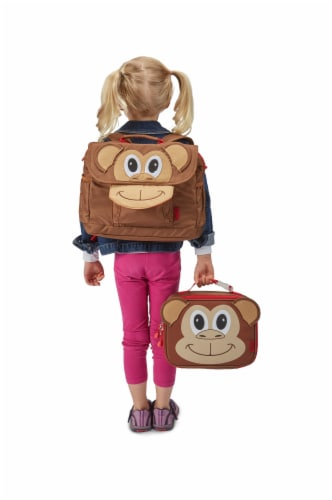 Bixbee Animal Pack Small Monkey Backpack Perspective: bottom
