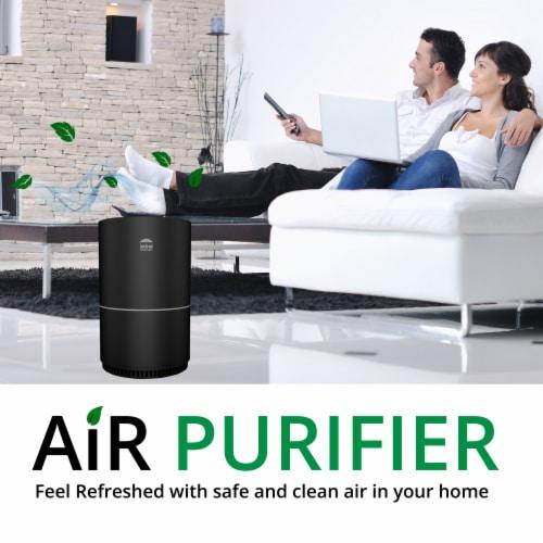 WBM International Air Purifier - Black Perspective: bottom