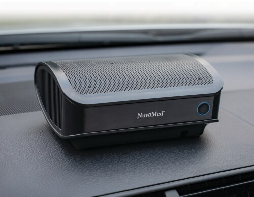 NuvoMed Car Air Purifier with HEPA Filter Perspective: bottom