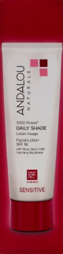 Andalou Naturals 1000 Roses Daily Shade Lotion SPF 18 Perspective: bottom