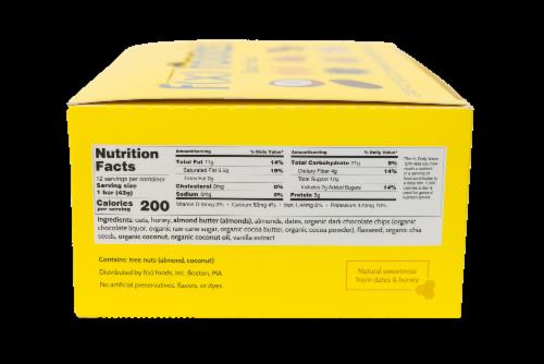 Brain Food - 12 pack gluten free, all-natural nutrition bar, granola bar, fx foods Perspective: bottom