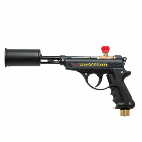 GrillBlazer SU-VGun Basic Propane Torch Gun for Outdoor Cooking and Grilling Perspective: bottom
