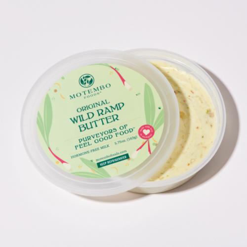 4 Count Original Wild Ramp Butter Perspective: bottom