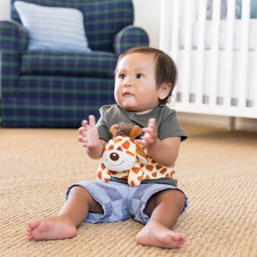 Happi Tummi:All Natural Fast Relief Waistband for Colic & Gas in Babies and Toddlers: Giraffe Perspective: bottom