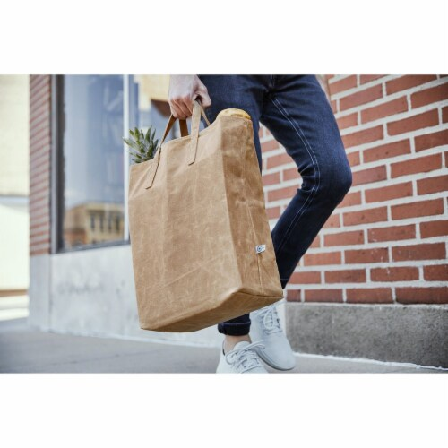 World's Strongest Grocery Bag - Brown Perspective: bottom
