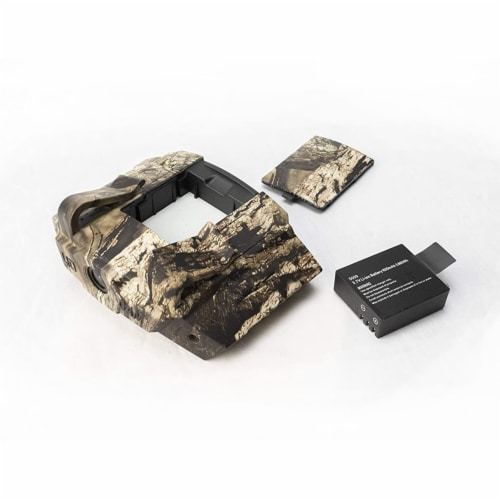 LIDCAM LC-WF Hat Mounted 1080P HD Action Camera with Full Audio and Wifi, Camo Perspective: bottom