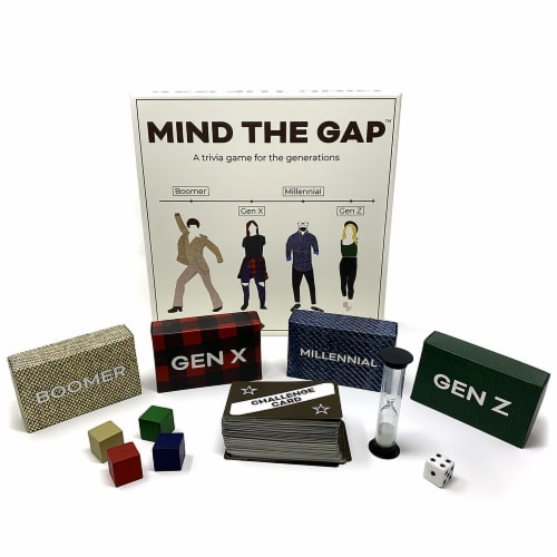 SolidRoots Mind The Gap Trivia Game Perspective: bottom