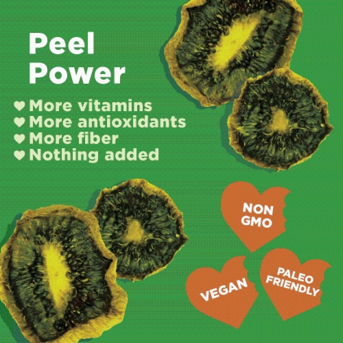 RIND Snacks Tangy Kiwi Dried Fruit Superfood - 3oz Bags, 6 Bags Total Perspective: bottom