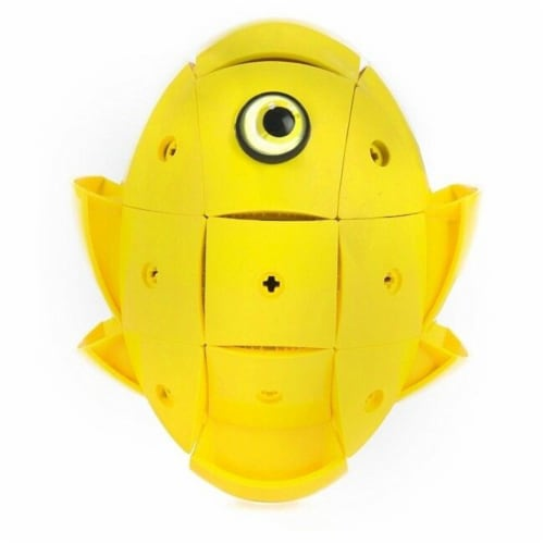 Geomag Kor Egg Covers - Yellow - 26-Piece Creative Magnet Cover Addition Perspective: bottom