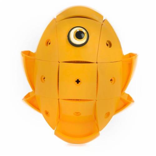 Geomag Kor Egg - Orange - 55 Piece Creative Magnet Playset Perspective: bottom