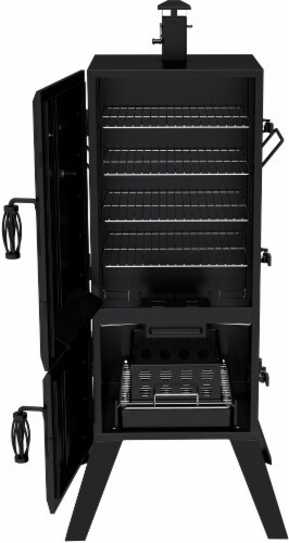 Dyna-Glo Vertical Charcoal Smoker Perspective: bottom