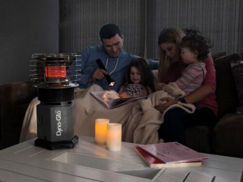 Dyna-Glo 10K BTU HeatAround 360 Heater - Black Perspective: bottom