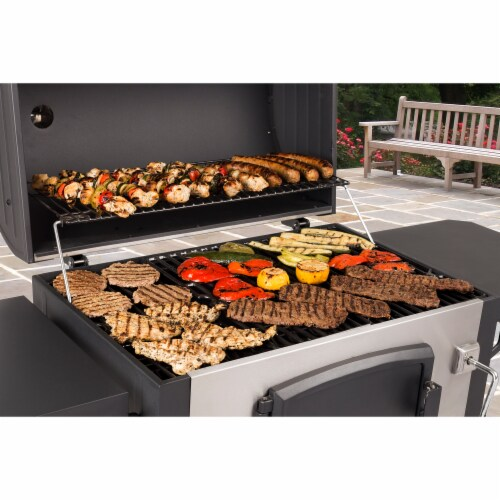 Dyna-Glo Large Premium Charcoal Grill Perspective: bottom