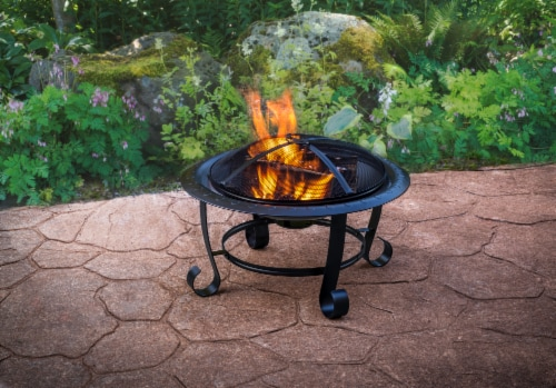 Pleasant Hearth Providence Fire Pit Perspective: bottom