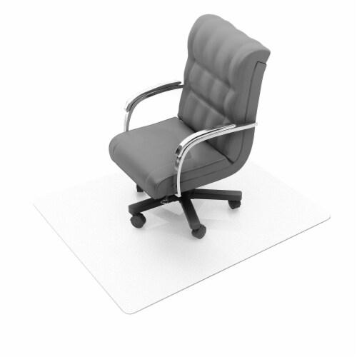 Floortex Cleartex Advantagemat 48 x 60  Vinyl Office or Home Floor Chair Mat Perspective: bottom