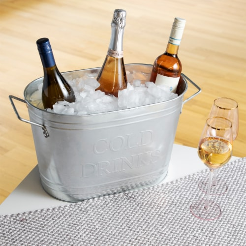 True Fabrications Cold Drinks Ice Bucket Perspective: bottom
