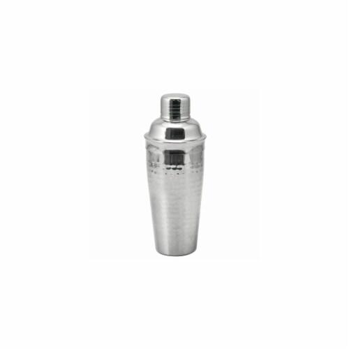 Viski Hammered Stainless Steel Cocktail Shaker Perspective: bottom
