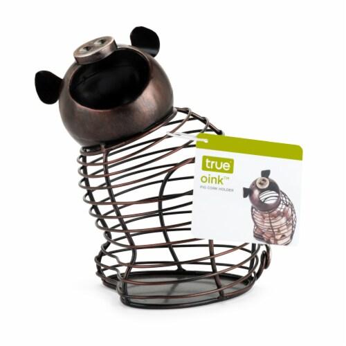Oink™ Pig Cork Holder by True Perspective: bottom