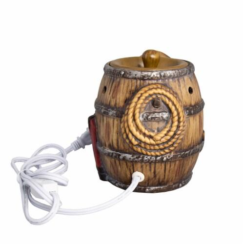 Scentsationals Home Fragrance Texas Barrel Full-Size Wax Warmer with 25 Watt Light Bulb Perspective: bottom