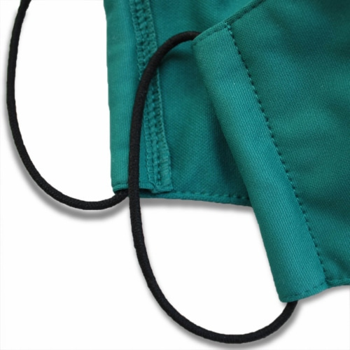 Rumble Tuff Medical Graded Fabric 3 Layers Reusable Facemask Perspective: bottom