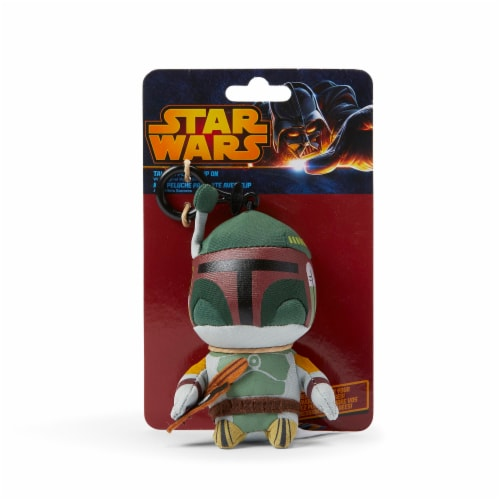 Star Wars Mini Talking Plush Toy Clip On - Boba Fett Perspective: bottom