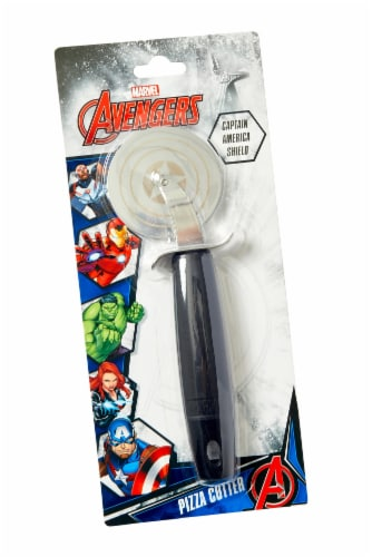 Marvel's Captain America Shield Pizza Cutter Perspective: bottom