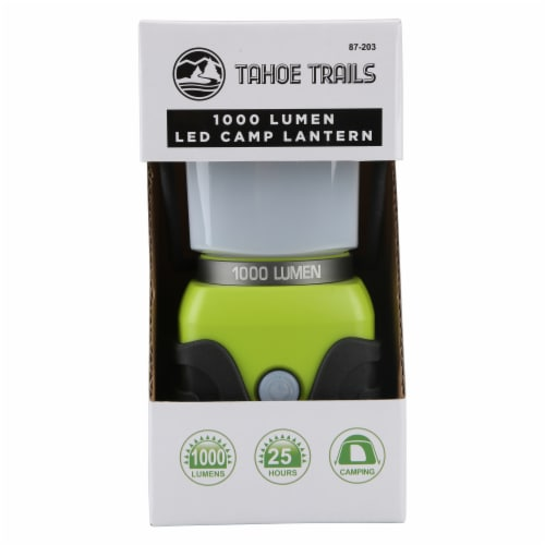 Tahoe Trails Camp Lantern - Green/Gray Perspective: bottom