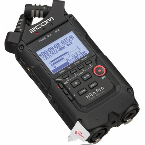Zoom H4n Pro 4-input / 4-track Digital Portable Audio Handy Recorder Perspective: bottom