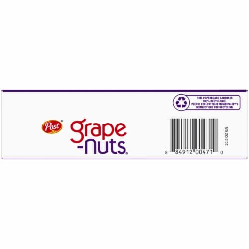 Post The Original Grape-Nuts Cereal Perspective: bottom