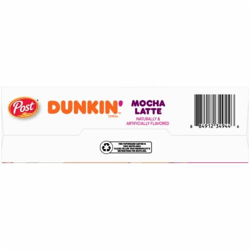 Dunkin' Mocha Latte Cereal Perspective: bottom