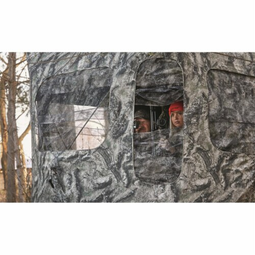 Guide Gear GGFGB-MOETC Field General Ground Hunting Blind, Mossy Oak Camouflage Perspective: bottom