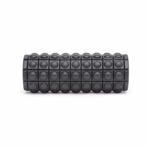 Adidas ADAC-11505BK Round Textured Foam Fitness Muscle Massage Roller, Black Perspective: bottom