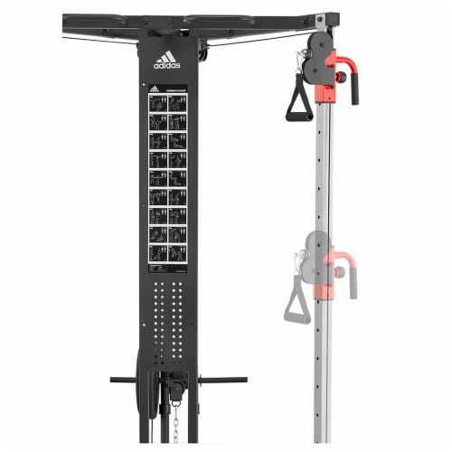 Adidas Sports Rig Versatile Strength Trainer Home Gym Exercise Equipment Machine Perspective: bottom