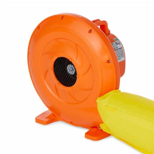 Kahuna 90793 Twin Falls Outdoor Inflatable Splash Pool Backyard Water Slide Park Perspective: bottom